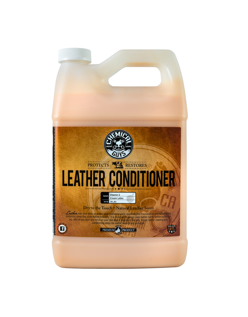 Chemical Guys SPI_401 Leather Conditioner (1 Gallon)