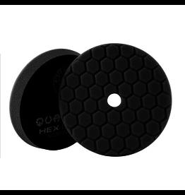 "Hex-Logic BUFX116HEX5 Hex-Logic Quantum Buffing Pad Black -5.5"""