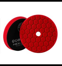 "Hex-Logic BUFX117HEX6 Hex-Logic Quantum Buffing Pad Red -6.5"""