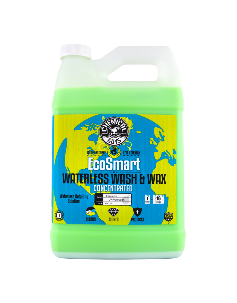Chemical Guys WAC_707 Ecosmart- Waterless Detailing System-Hyper Concentrate (1 Gallon Makes 16)-(1Gal)