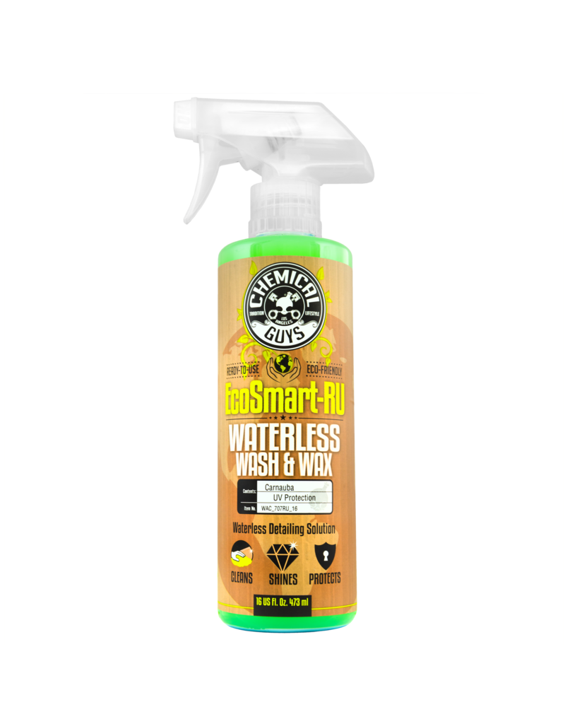 Chemical Guys WAC_707RU_16 Ecosmart-RU- Waterless Detailing System-Ready To Use (16oz)