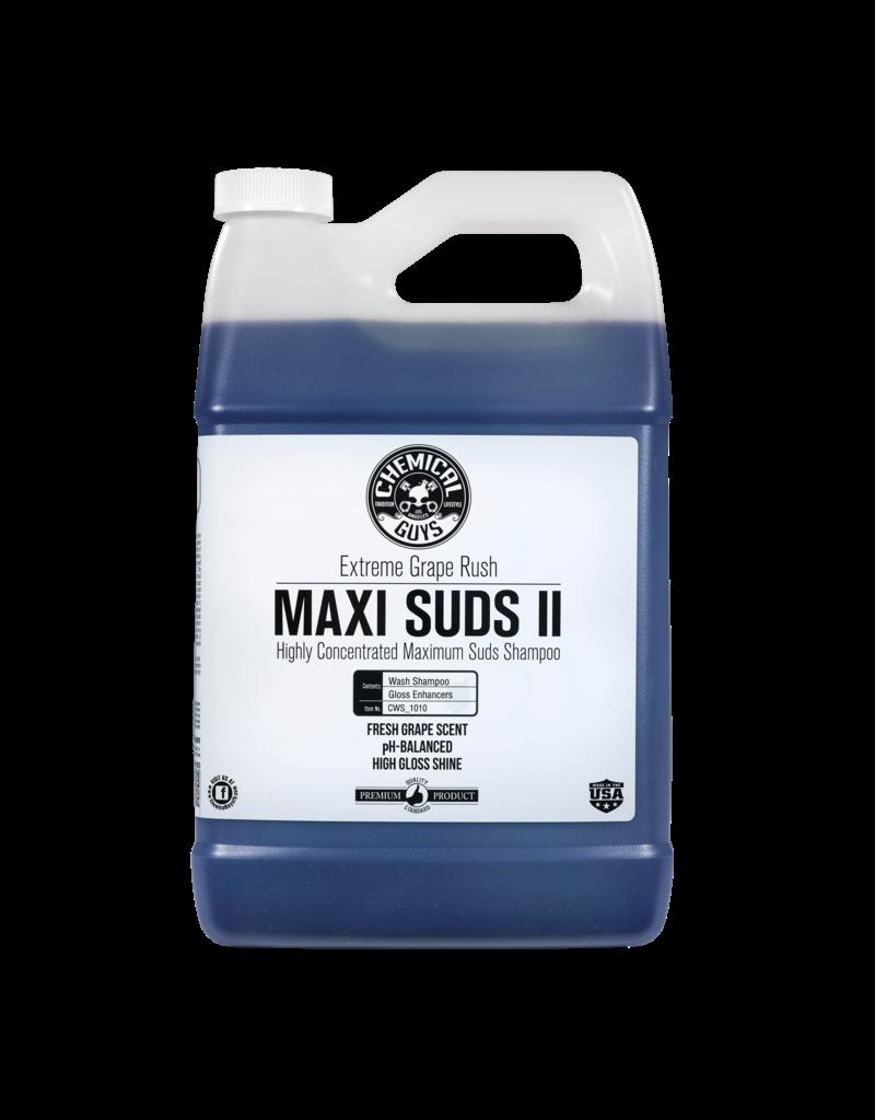 Chemical Guys CWS_1010 Maxi-Suds II: Super Suds Shampoo- Grape Fusion- Superior Surface  Shampoo (1 Gal)