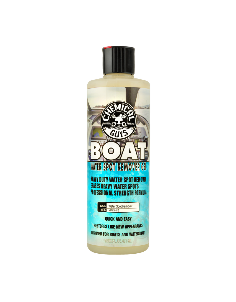 Chemical Guys Boat Heavy Duty Water Spot Remover Gel 16 oz.