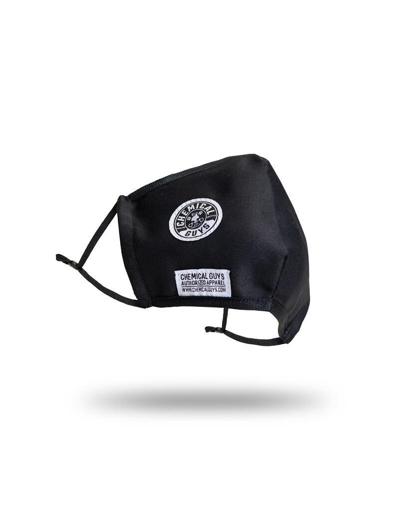 Chemical Guys Black Cotton Face Mask (Non-Medical)