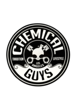 Chemical Guys Traditional CG Logo Sticker 4 in.