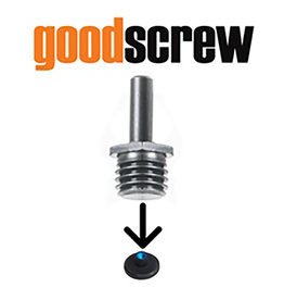 Good Screw Rotary Backing Plate Drill Adapter