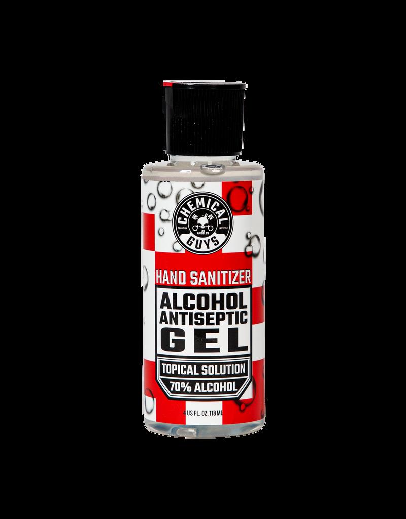 Chemical Guys SeventyGel Hand Sanitizer 70% Alcohol Antiseptic Solution