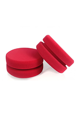 Chemical Guys Dublo-Dual Sized Red Foam Car Wax, Sealant & Glaze Applicator (2 Pack)