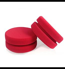 Chemical Guys Dublo-Dual Sized Red Foam Car Wax, Sealant & Glaze Applicator (2 Pack)