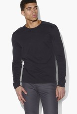 John Varvatos John Varvatos Acid Wash Crew Neck