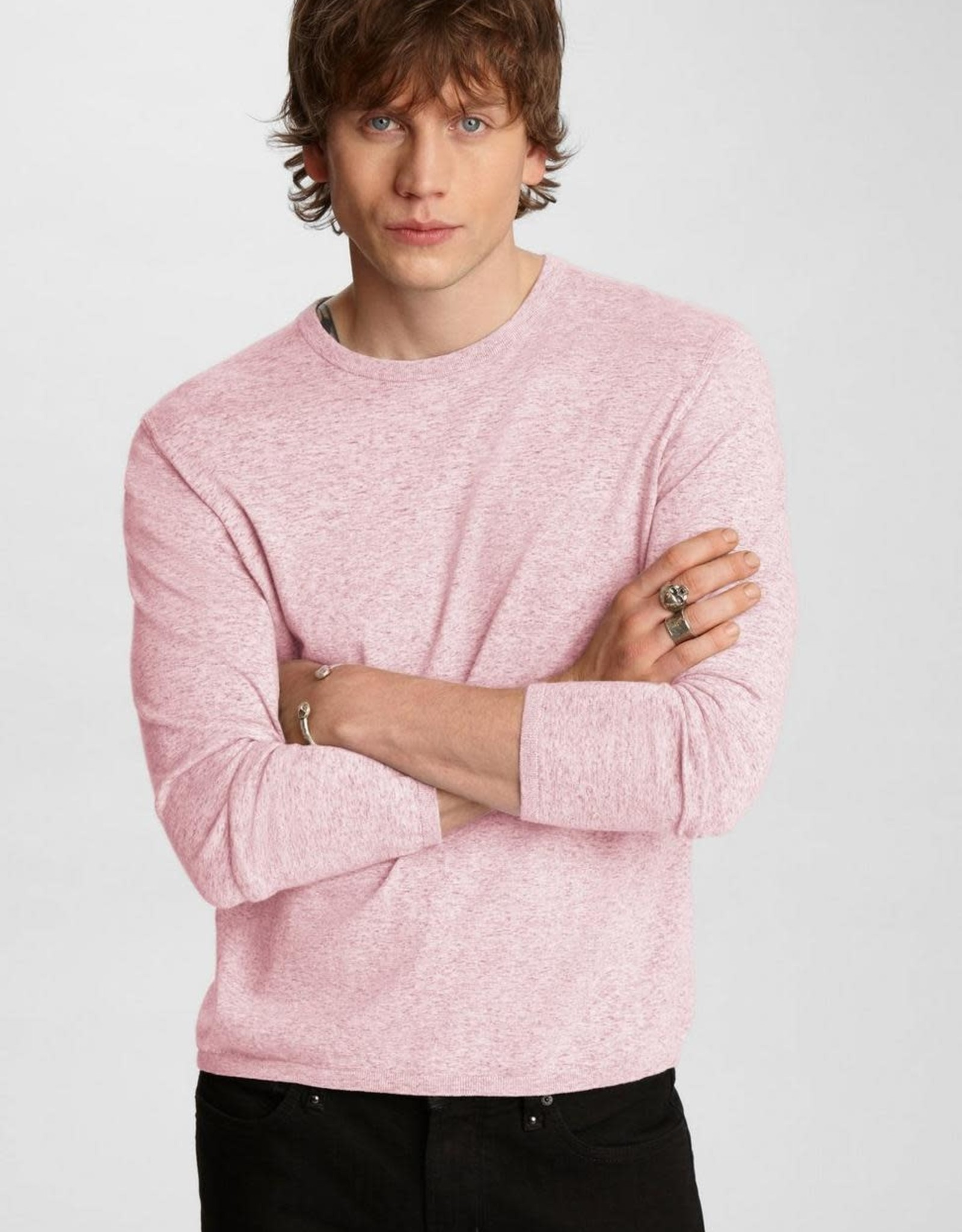 John Varvatos John Varvatos Huntington Crewneck Sweater