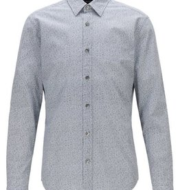 Hugo Boss Hugo Boss Floral Print Cotton Sport Shirt