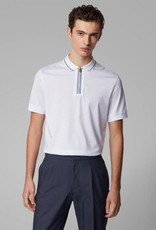 Hugo Boss Hugo Boss 1/4 Zip Mercerized Cotton Polo