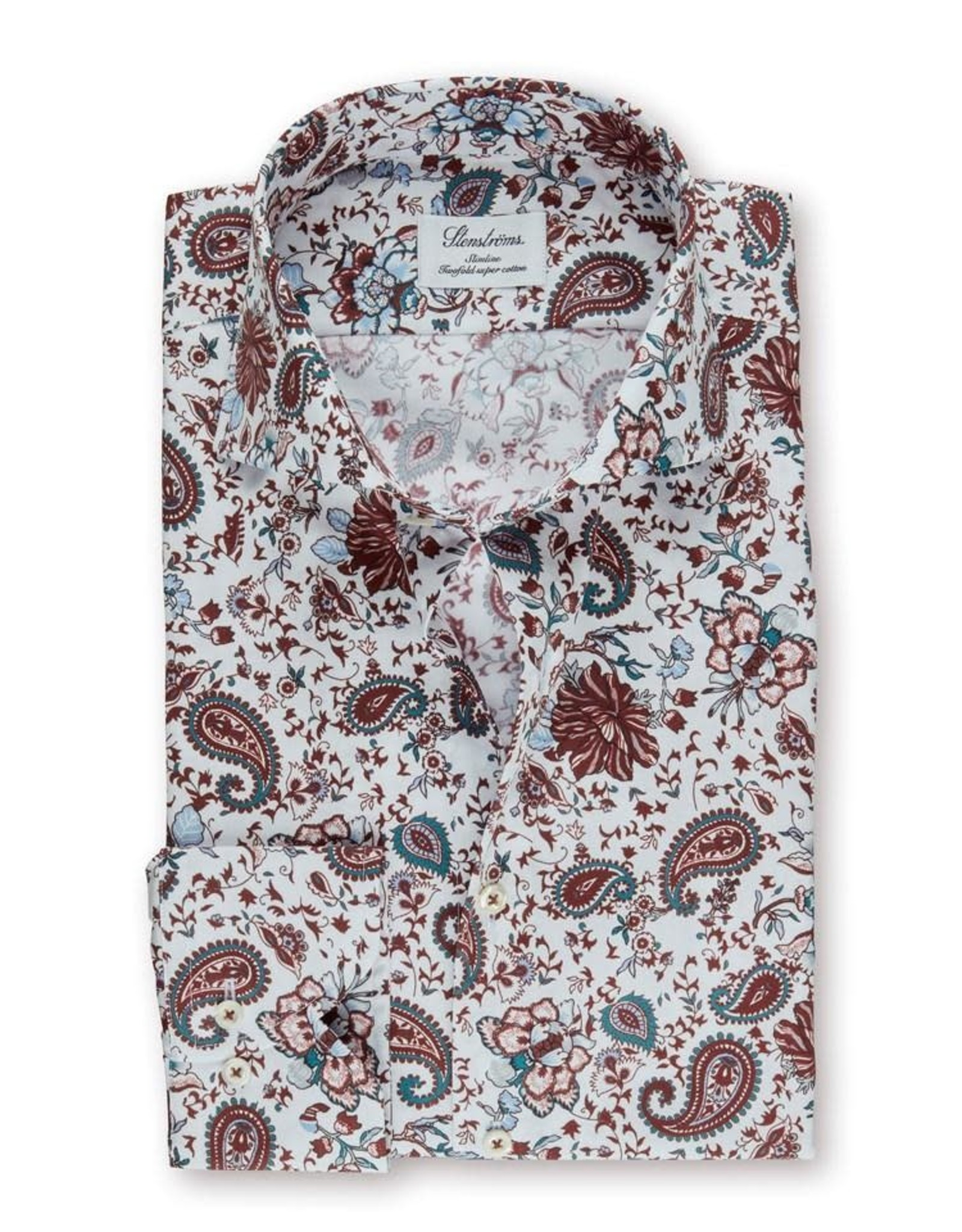 Stenstroms Stenstroms Paisley Print Dress Shirt