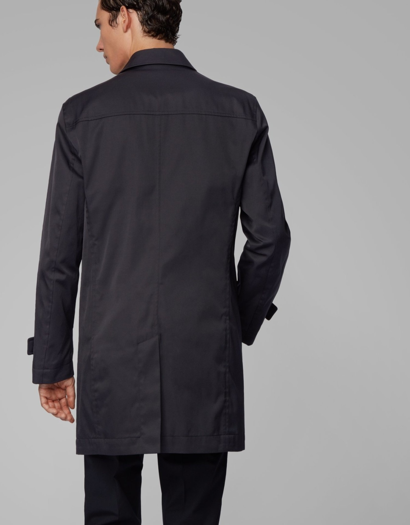 Hugo Boss Hugo Boss Dain Water-Repellent Twill Overcoat