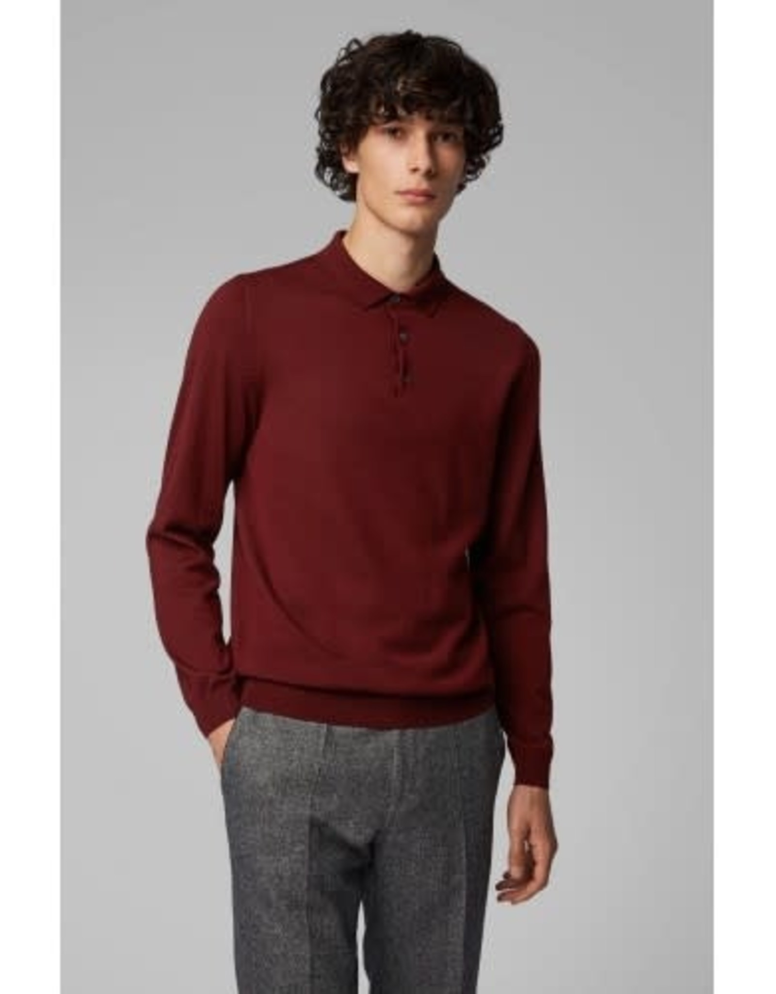 Hugo Boss Hugo Boss Wool Sweater Polo