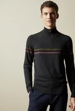 Ted Baker Ted Baker 1/2 Zip Funnel Neck Sweater