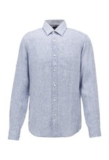 Hugo Boss Hugo Boss Regular Fit Linen Shirt