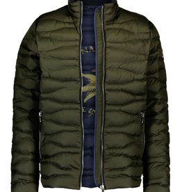 A Fish Named Fred A Fish Named Fred Quilted Bomber Jacket