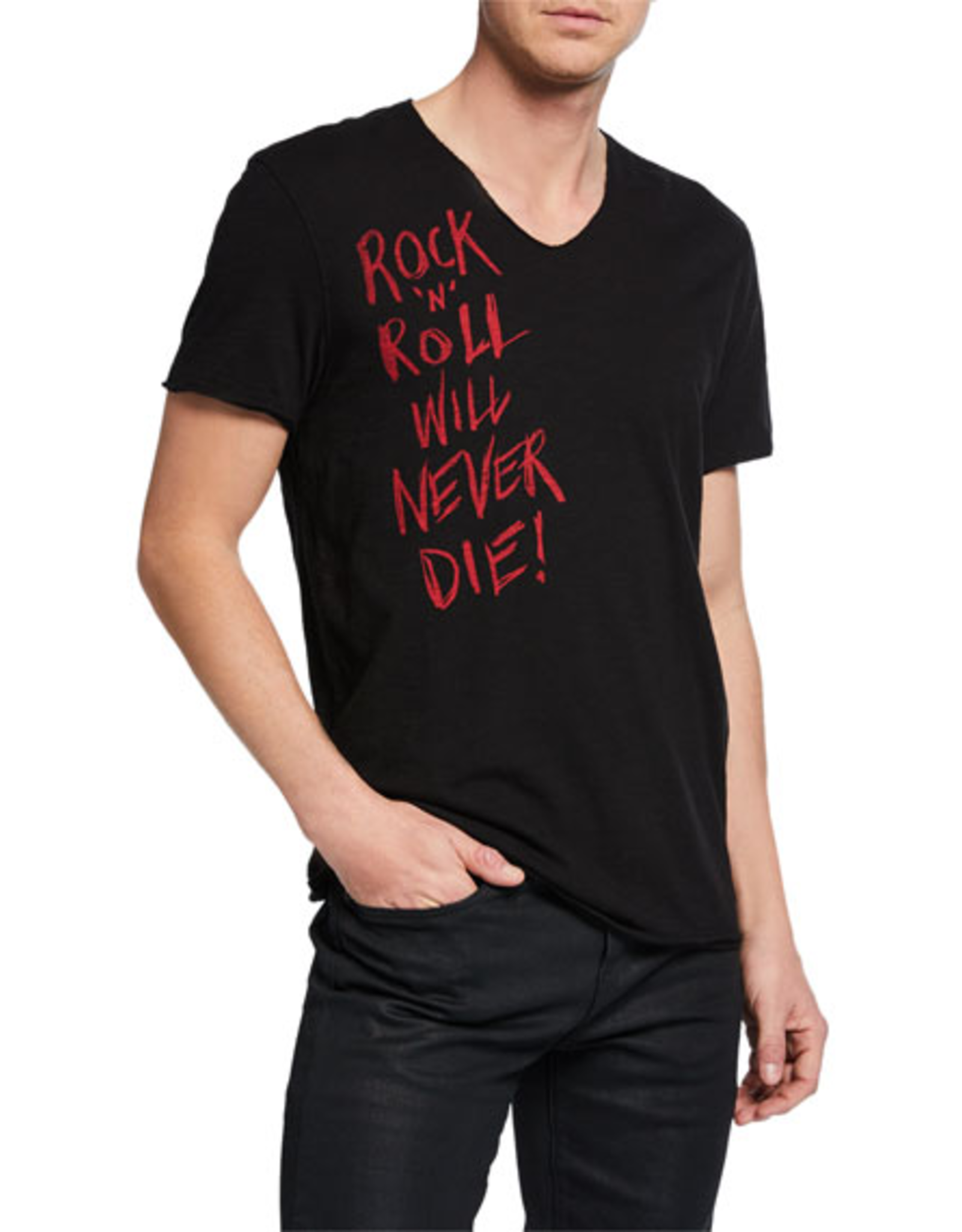 John Varvatos John Varvatos Rock 'N' Roll Graphic T-Shirt