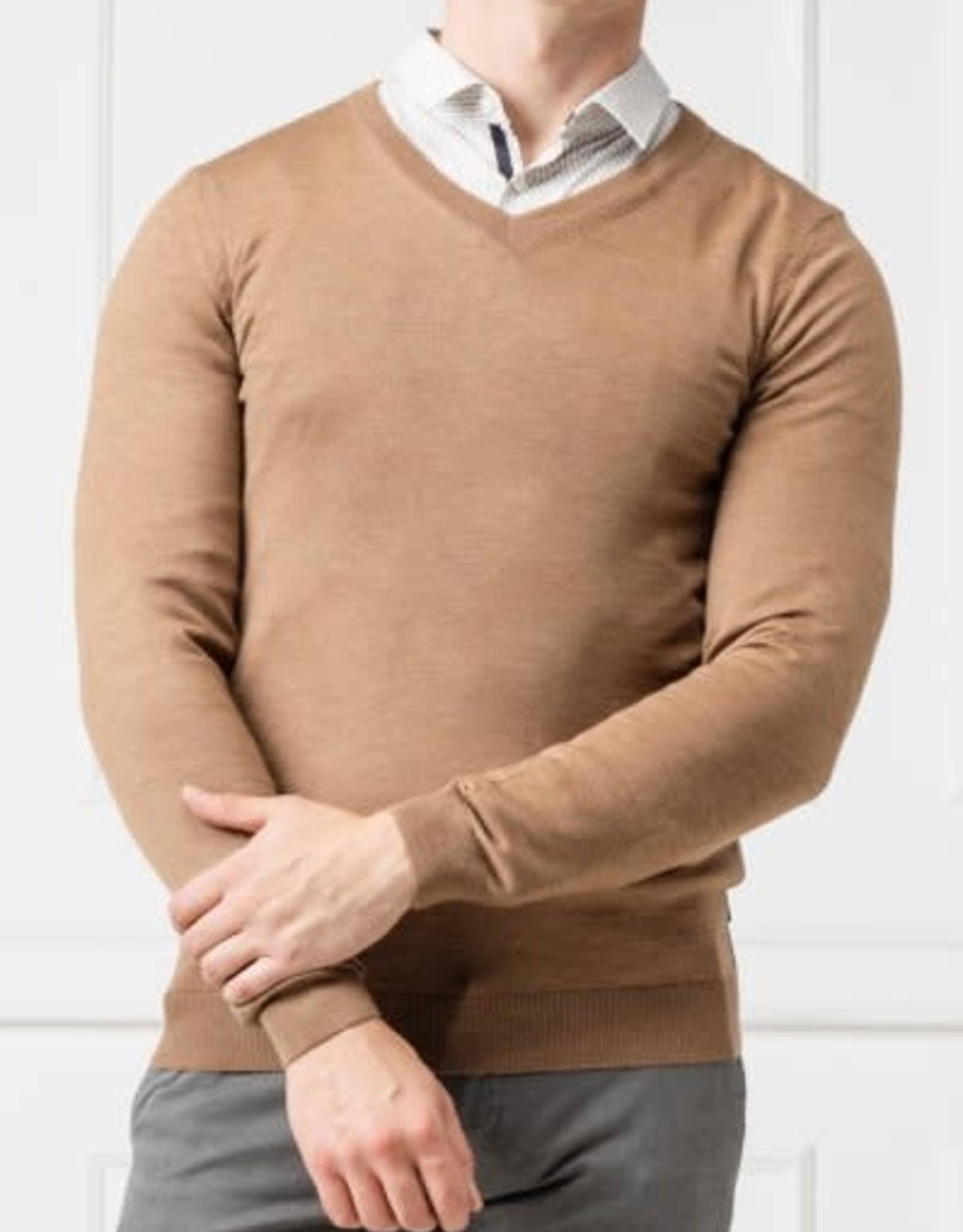 Hugo Boss Hugo Boss V-Neck Wool Sweater