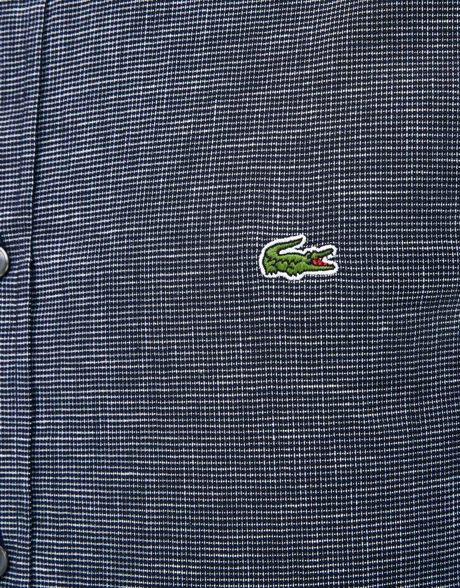 Lacoste Lacoste Fine Check Cotton Shirt