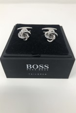 Hugo Boss Boss Tailored Cufflinks Silver