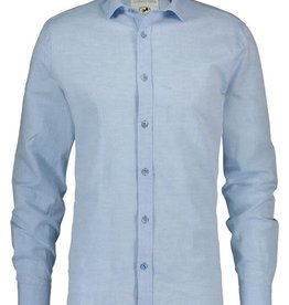 A Fish Named Fred AFNF Shirt Blue Linen