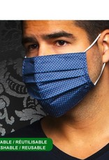 Au Noir Reusable Mask - Navy
