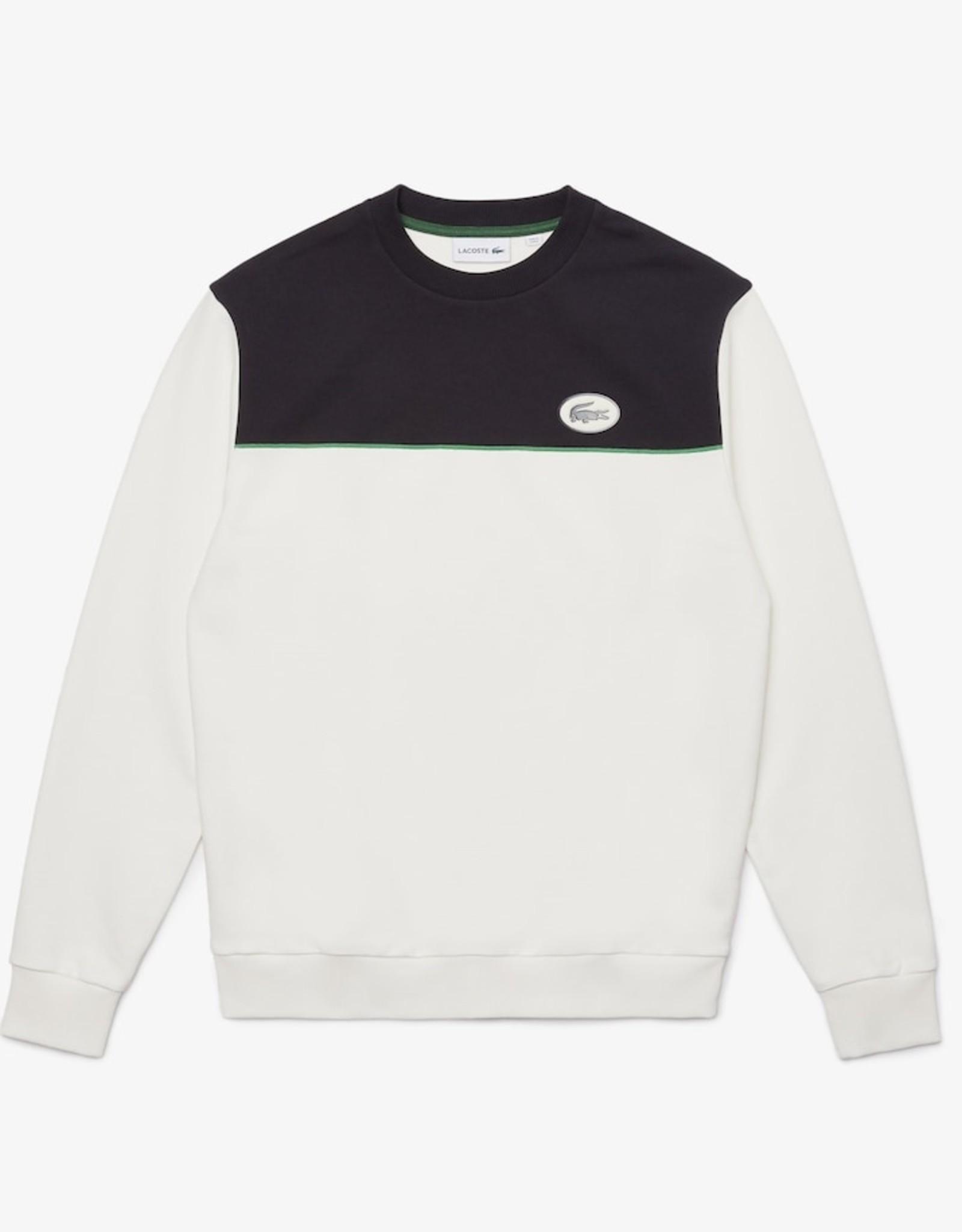 Lacoste Lacoste Colourblock Cotton Fleece Sweatshirt