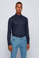 Hugo Boss Hugo Boss Stretch Linen Sport Shirt