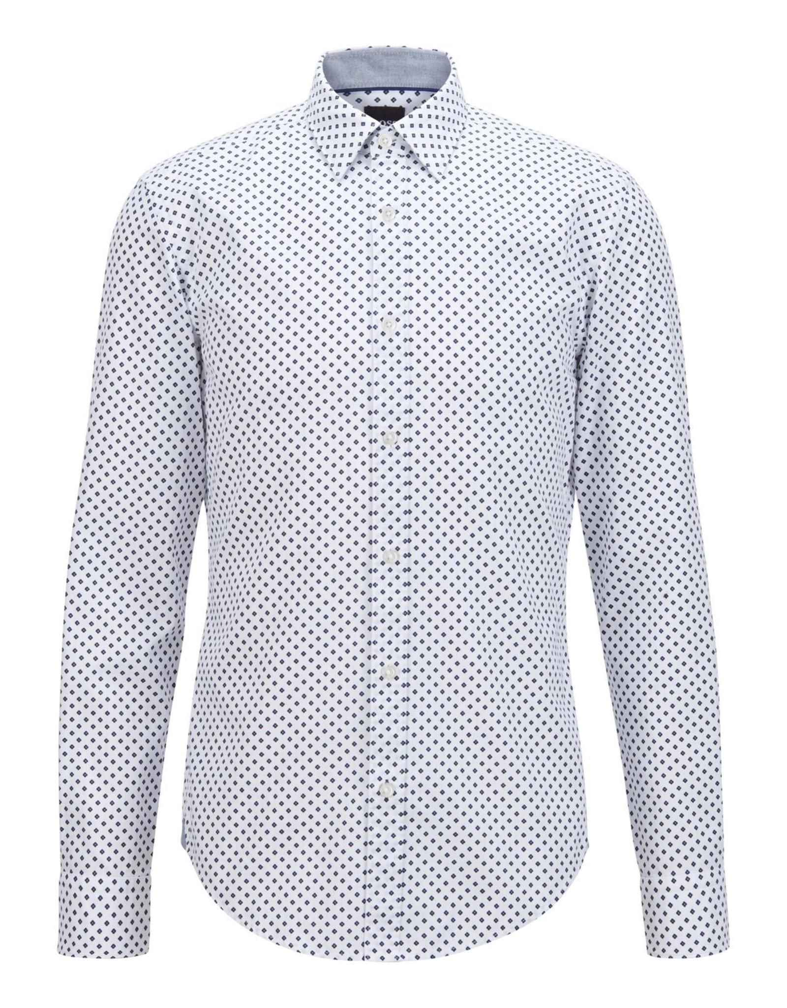 Hugo Boss Hugo Boss Geometric-print Sport Shirt
