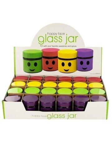 Happy Face Jar