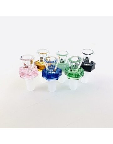 Nice Glass Hex Base Bowl