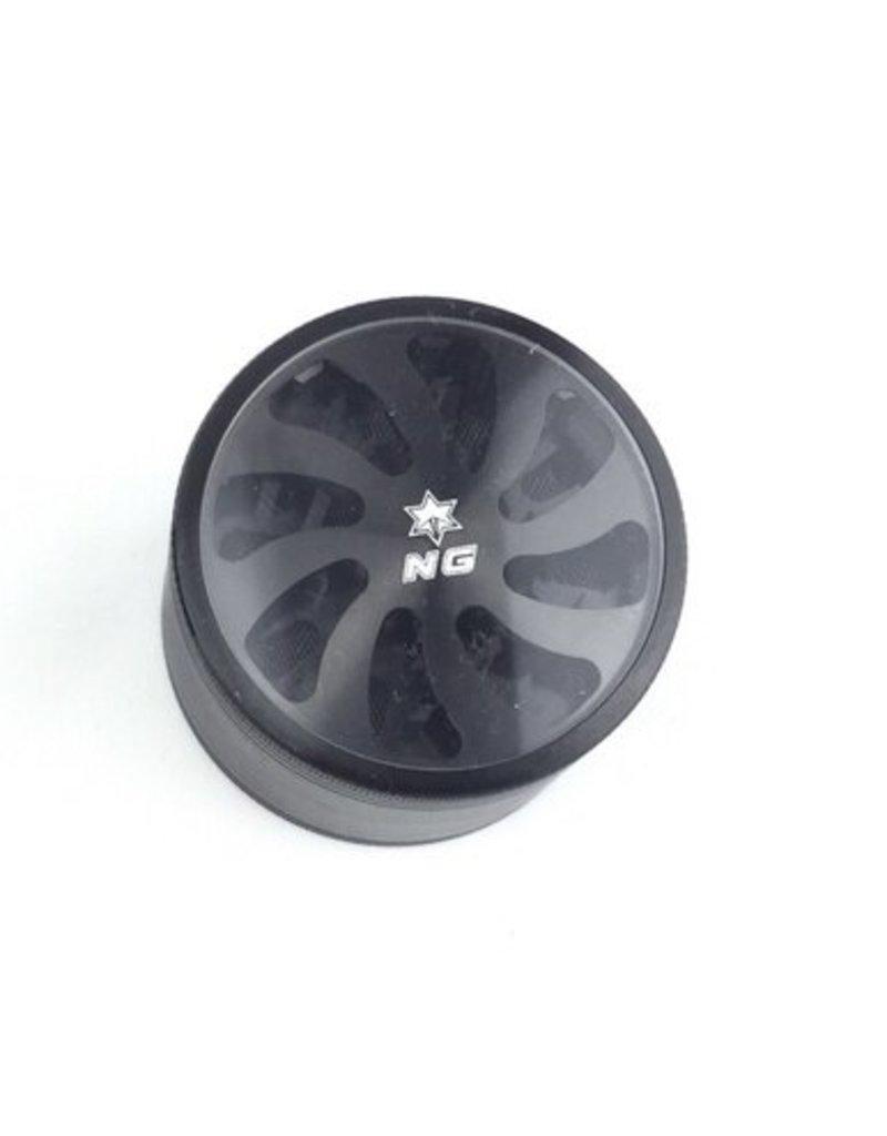 "Nice Glass NG Grinder 2.5"" 4pc Slot Top"