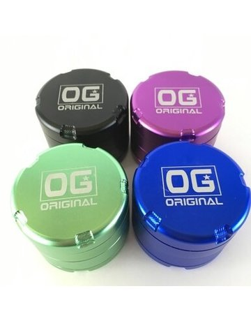 OG Quickdraw Grinder w/Extra Screen
