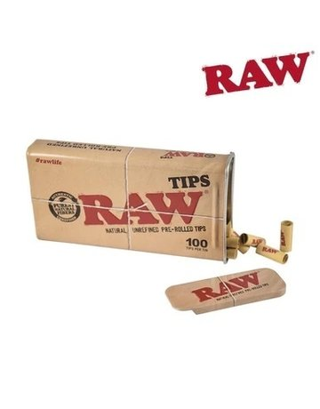 Raw Raw Tin w/Pre-Rolled Tips