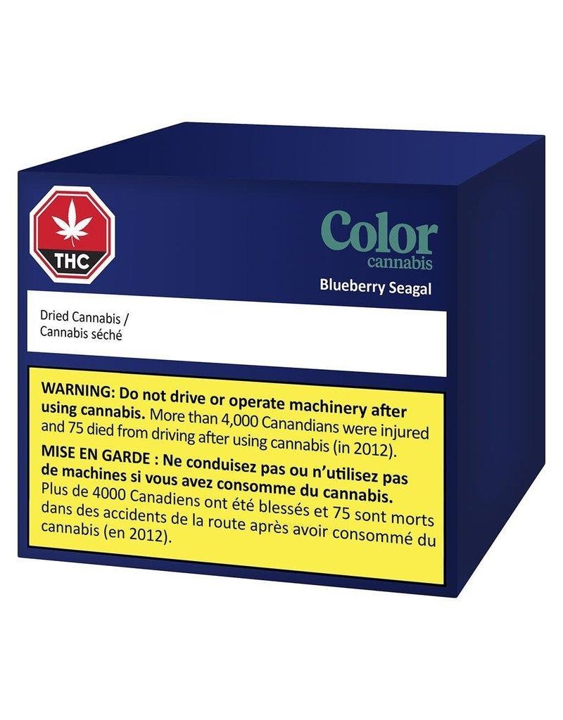 Color Cannabis Blueberry Seagal