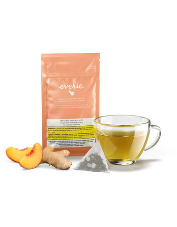 Everie Decaffeinated Peach Ginger Green Tea