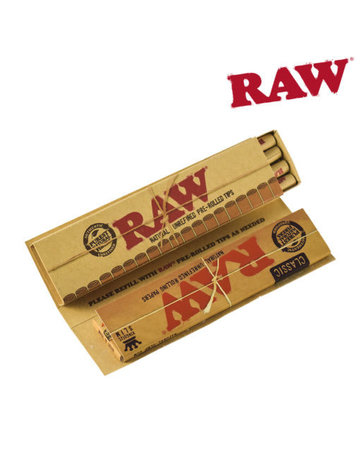 Raw Raw Classic King Size w/Pre-rolled Tips