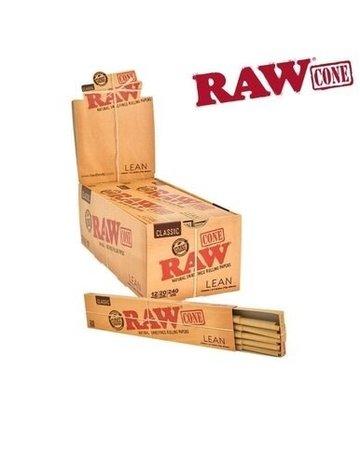 Raw Raw Pre-Rolled Lean Cones (20)
