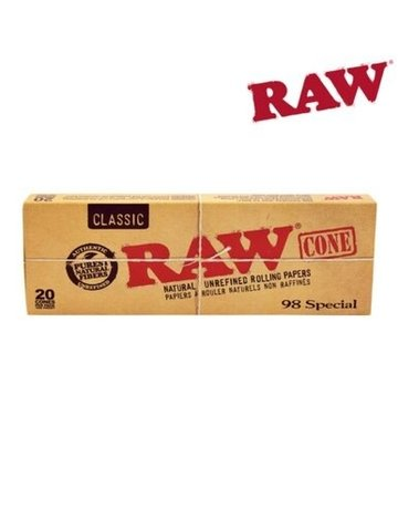 Raw Raw Pre-Rolled 98 Special Cones