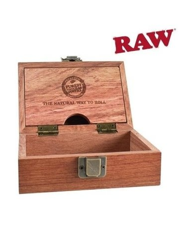 Raw Raw Deluxe Rosewood Box