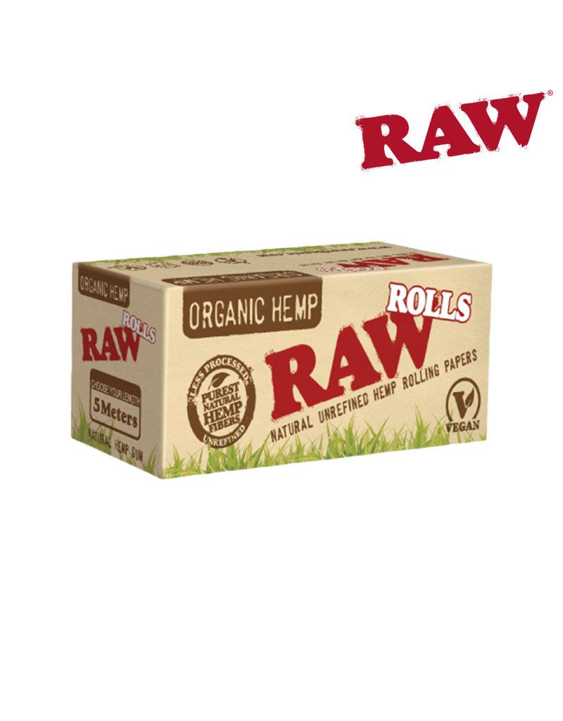 Raw Raw Organic Rolling Paper Roll 5m