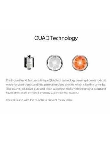 Yocan Evolve Plus XL Quad Coil Replacement (Single)