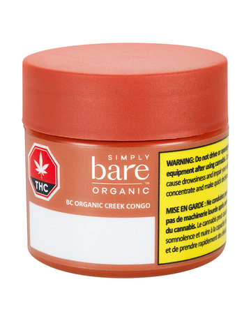 Simply Bare BC Organic Creek Congo