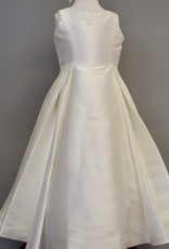 JoanCalabrese Ivory Bengaline Dress
