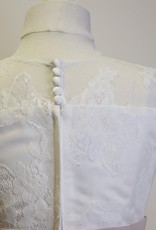 JoanCalabrese 3/4 Sleeve Imported Lace Dress