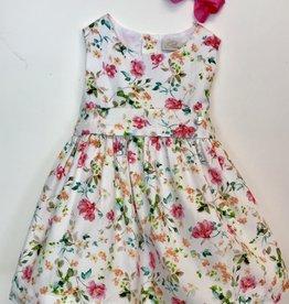 Purete Bright floral Dress 3m-36m