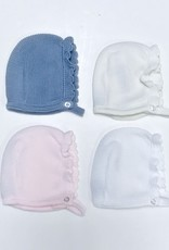 Juliana Bonnet Knitted Scallop Edge Juliana J1054